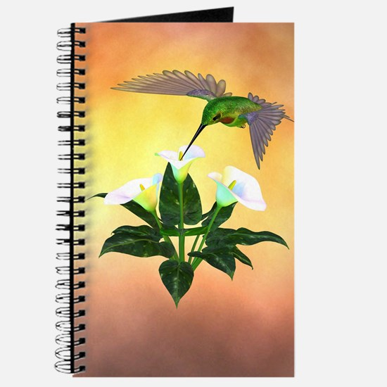 Hummingbird on Lily Journal