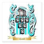 Cecil Square Car Magnet 3