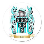 Cecil Round Car Magnet