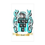 Cecil Sticker (Rectangle 50 pk)