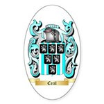 Cecil Sticker (Oval 50 pk)