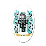 Cecil 20x12 Oval Wall Decal