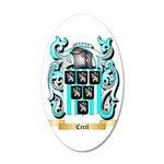 Cecil 35x21 Oval Wall Decal