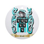 Cecil Ornament (Round)