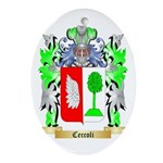 Ceccoli Ornament (Oval)