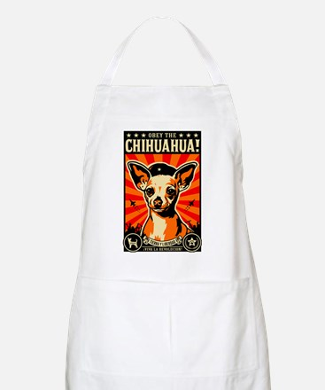 Obey the Chihuahua! BBQ Apron
