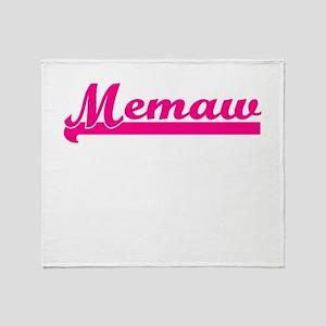 MEMAW Throw Blanket