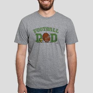 Snoopy - Football Dad Mens Tri-blend T-Shirt