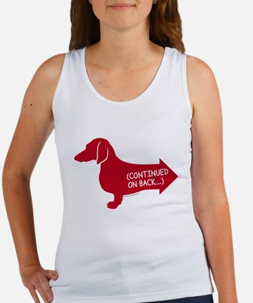 DachRedfront Tank Top