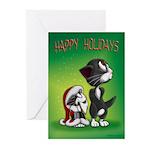 HOLIDAY SPIRIT Greeting Cards (Pk of 10)