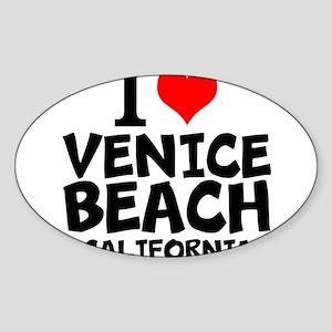 I Love Venice Beach, California Sticker
