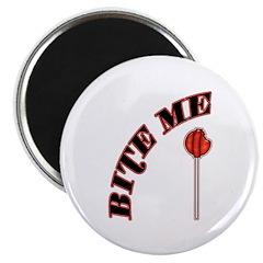 Bite Me Lollipop Magnet