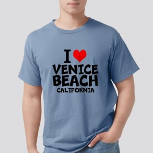 I Love Venice Beach, California Mens Comfort Color