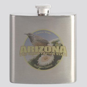 Arizona Bird-Flower Flask