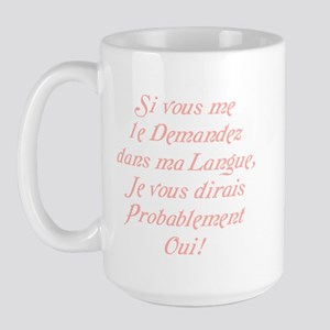 The French Large Mug