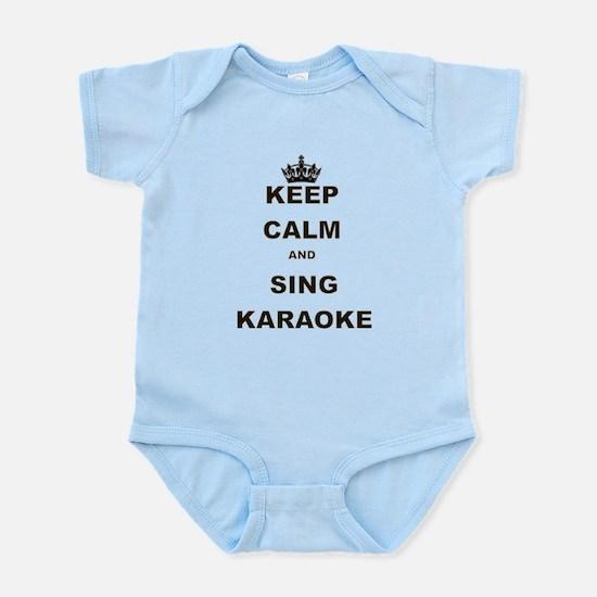 KEEP CALM AND SING KARAOKE Body Suit