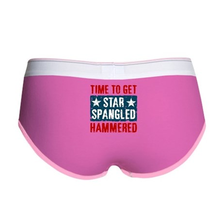Star Spangled Hammered Women's Boy Brief