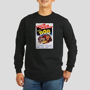 The BOB Long Sleeve Black T-Shirt