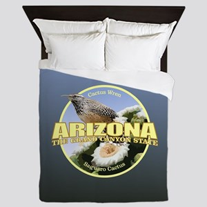 Arizona Bird-Flower Queen Duvet