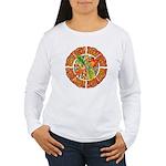 Celtic Autumn Leaves Women's Long Sleeve T-Shirt