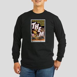 THEM Long Sleeve Black T-Shirt