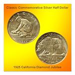 California Diamond Jubilee Square Magnet 3x3 in