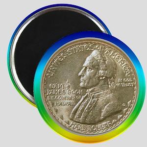 Hawaiian Sesquicentennial Coin Magnet