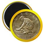 California Diamond Jubilee Coin Magnet
