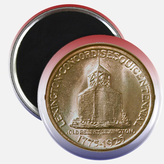 Lexington-Concord Coin Magnet