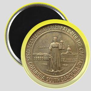 Columbia SC Sesquicentennial Coin Magnet