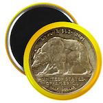 "California Diamond Jubilee Coin 2.25"" Magnet-"