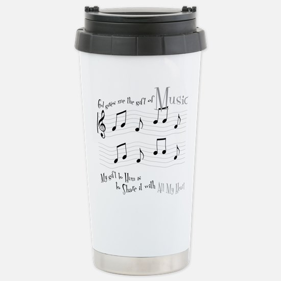 Gift of Music #1 Travel Mug