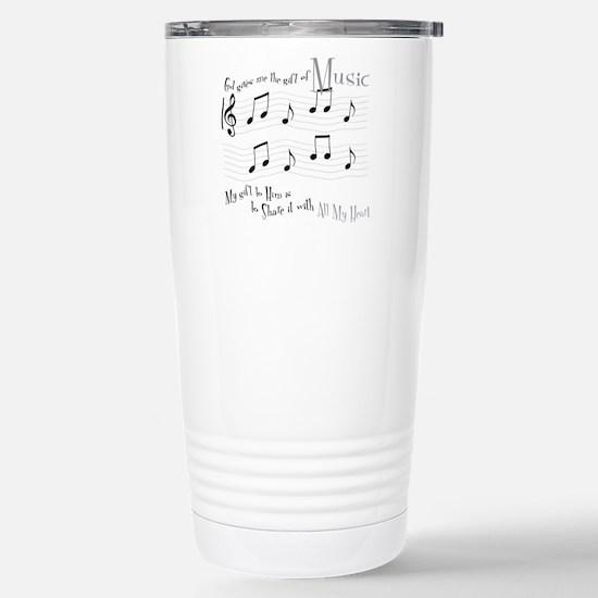 Gift of Music #1 Travel Mug