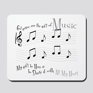 Gift of Music #1 Mousepad