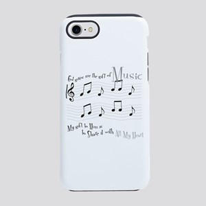 Gift of Music #1 iPhone 7 Tough Case
