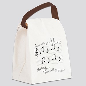 Gift of Music #1 Canvas Lunch Bag