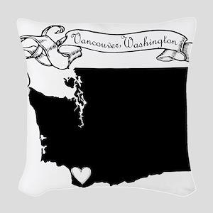 Vancouver Woven Throw Pillow
