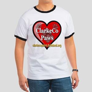 ClarkeCo Paws T-Shirt