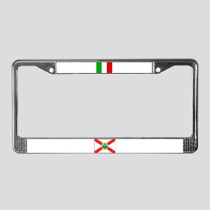 Italy and Florida License Plate Frame