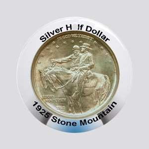 Stone Mountain Coin Ornament (Round)