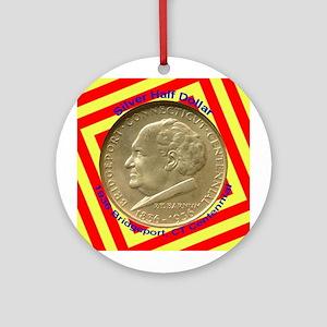 Bridgeport CT Centennial Coin Ornament (Round)