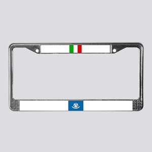 Italy and Louisiana License Plate Frame