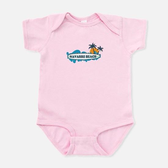 Navarre Beach - Surf Design. Infant Bodysuit