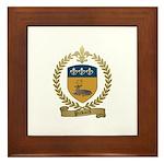 PICKARD Family Crest Framed Tile