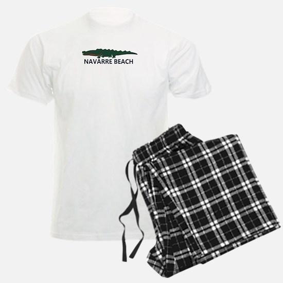 Navarre Beach - Alligator Design. Pajamas
