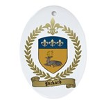 PICKARD Family Crest Oval Ornament