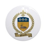 PICKARD Family Crest Ornament (Round)