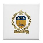 PICKARD Family Crest Tile Coaster