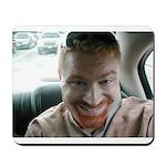 smiling mousepad