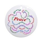 Fred-isPeace Ornament (Round)